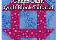 Stylish churn dash quilt block tutorial 3 4 12 6 7 12 and 10 Cozy Churn Dash Quilt Block Pattern Inspirations