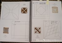 Stylish dear jane i have been distracted bloomin workshop 9 New Dear Jane Quilt Block Patterns