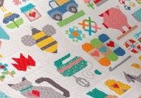 Stylish farm girl vintage 2 sampler quilt kit featuring farm girl 11 Interesting Farm Girl Vintage Quilt Kit