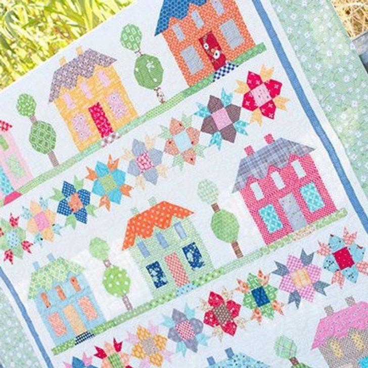 Permalink to 11 Interesting Farm Girl Vintage Quilt Kit