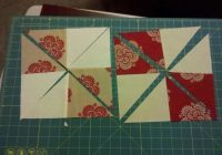 Stylish my pinwheel disappearing 4 patch using charm packs charm 11 Stylish Four Patch Quilt Ideas Gallery