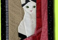 stylish patchwork cat quilt block patterns ideas quilt Stylish Free Printable Cat Quilt Patterns