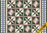 Stylish pieced blocks chinese lanterns 11 Stylish Chinese Lantern Quilt Pattern Inspirations