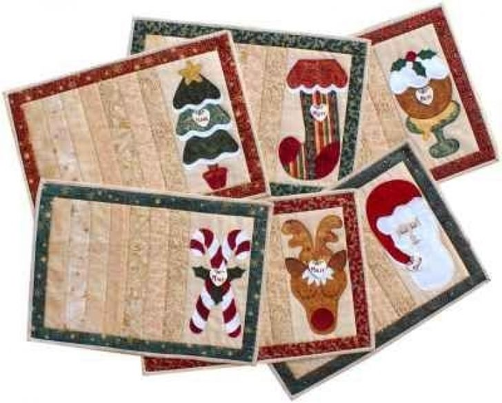 Permalink to 9 Unique Quilted Christmas Placemat Patterns Free Inspirations