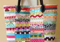 Stylish quilted tote patterns free confederated tribes of the 9 Interesting Quilted Tote Bags Patterns