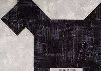 Stylish scottie dog quilt block pattern tutorial easy for beginners New Black And White Quilt Block Patterns Gallery