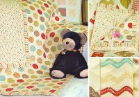 Stylish whimsy ez pre quilted ba blanket sew4home 10 New New Double Sided PreQuilted Fabric By The Yard Ideas Gallery