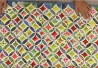 Stylish youll love this easy method for cathedral windows 9 New Cathedral Window Quilt Patterns Inspirations