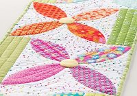 summer blooms table runner pattern Cool Quilt Patterns Table Runners