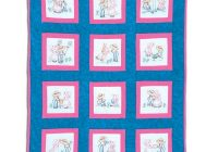 sunbonnet sue sam 9 theme quilt blocks Interesting Jack Dempsey Needle Art Baby Quilts