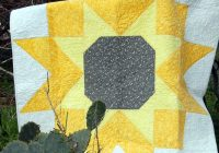 sunflower quilt Unique Sunflower Quilt Patterns Inspirations