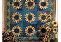 sunflowers quilt pattern Unique Sunflower Quilt Patterns Inspirations