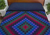sunshine and shadow quilt superb skillfully made amish Sunshine And Shadow Quilt Pattern