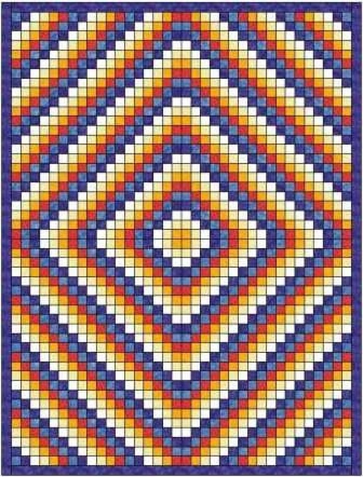Permalink to Stylish Sunshine And Shadows Quilt Pattern