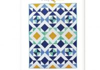 suzy quilts sewing pattern nordic triangles quilt Modern Scandinavian Quilt Patterns Gallery
