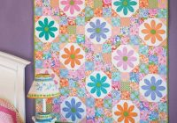 sweet daisy quilt for your wall or table quilting digest Interesting Mccalls Quilting Patterns Free