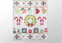 sweet noel garden party quilt kit bluprint Interesting Garden Party Quilt Pattern