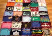 t shirt quilt easy enough for me to do fun stuff T Shirt Quilt Patterns For Beginners Inspirations