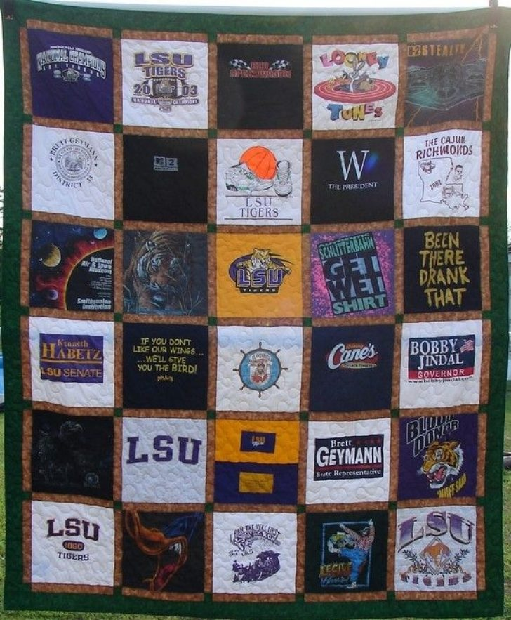 Permalink to Cozy T Shirt Quilt Pattern Queen Gallery