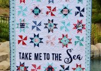 take me to the sea digital quilt pattern featuring seaside riley blake designs pdf quilt pattern Cozy By The Sea Quilt Pattern Gallery