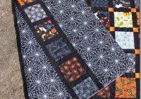 tamarack shack happy halloween halloween quilt patterns 11 Modern Halloween Quilts Patterns