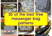 the best free messenger bag patterns so sew easy Modern Quilted Messenger Bag Pattern