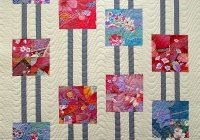 this could be a simple quilt idea used in many color ways i Stylish Modern Quilt Ideas Gallery