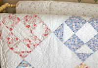 this looks antique like this quilt has comforted many and Cool Old Fashioned Quilt Patterns