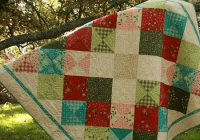 this modern quilt is full of old fashioned charm quilting Cool Old Fashioned Quilt Patterns