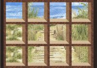 timeless treasures beach haven gulf breeze attic Elegant Attic Window Quilt Pattern