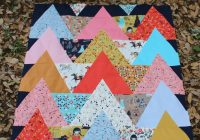 tipi quilt pattern and tutorial for sewing 60 degree Elegant 60 Degree Triangle Quilt Inspirations