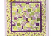 tossed nine patch eleanor burns signature quilt pattern Interesting Eleanor Burns Quilt In A Day Patterns Inspirations