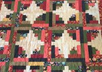 traditional log cabin quilt patchwork log cabin quilt large lap quilt large throw quilt Elegant Traditional Log Cabin Quilt Pattern Gallery