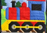 train quilt pattern cq 068 train quilt blocks quilts Cozy Thomas The Train Quilt Patterns Gallery