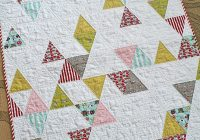 triangle ba quilt blogged freshlypieced flickr Interesting Triangle Baby Quilt Inspirations
