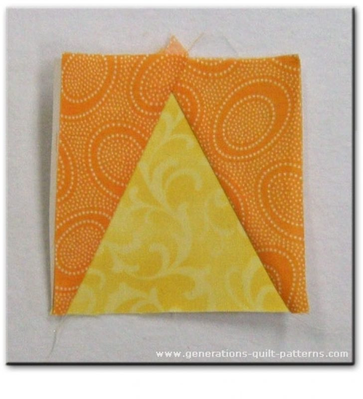 Permalink to Elegant Triangle In A Square Quilt Block