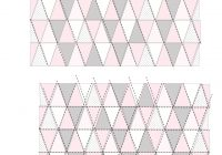 triangle quilt pattern update how to get sharp triangles Elegant Triangle Quilt Template