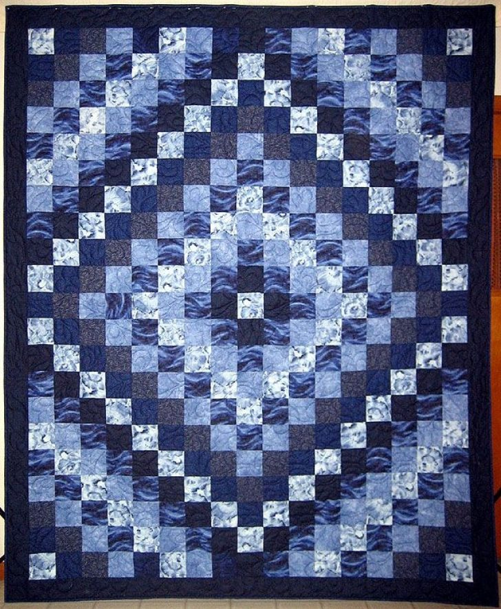 Permalink to Interesting Round The World Quilt Pattern