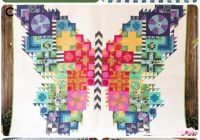 tula pink butterfly quilt inspiration and fabric kits 10   Tula Pink Butterfly Quilt Pattern