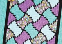 twisted nine patch quilt pattern eleanor burns quilt in a day 1299 modern quilt pattern easy quilt pattern strip quilt pattern Interesting Eleanor Burns Quilt In A Day Patterns Inspirations