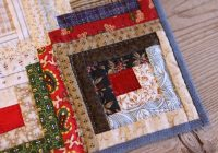 Unique 30 free patterns to make a log cabin quilt guide patterns 11 Cool Diamond Log Cabin Quilt Patterns Free Inspirations