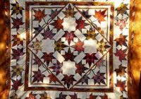 Unique autumn leaves quilt 9 Interesting Falling Leaves Quilt Pattern Gallery