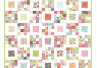 Unique free charm pack quilt patterns u create Modern Charm Pack Quilt Patterns Moda Gallery