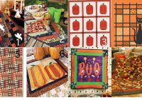 Unique halloween quilt patterns kits and more for happy seasonal 11 Modern Halloween Quilts Patterns