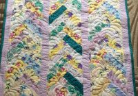 Unique handmade friendship braid quilt original free shipping perfect for a little girl in your life flannelsoftcozyheirloom quilting 9 Stylish Friendship Braid Quilt