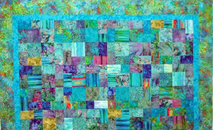 Permalink to 10 Cozy Quilt Patterns For Batiks Inspirations