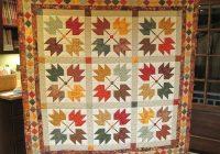 Unique maple leaves and a quilt built on a legend 24 blocks 9 Elegant Maple Leaf Quilt Patterns Gallery