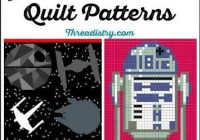Unique may the force be with you with star wars quilt patterns 9   Unique Star Wars Quilting Fabric Inspiration Gallery