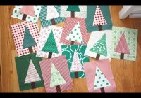 Unique patchwork forest tree quilt block video tutorial amy smart of diary of a quilter 10 Cool Pieced Tree Quilt Patterns Inspirations