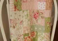 Unique shab chic 9 patch batoddler quilt shab chic quilt 11 New Shabby Chic Quilt Patterns Inspirations